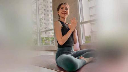Olivia Jensen, selebriti Indonesia yang hobi olahraga. - INDOSPORT