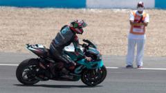 Indosport - Valentino Rossi dan Fabio Quartararo mengaku gugup dan sedikit takut jelang MotoGP Austria yang akan dilangsungkan di Sirkuit Red Bull Ring.