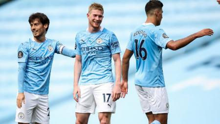 Rooney Bandingkan De Bruyne Dengan Legenda Man United dan Liverpool - INDOSPORT