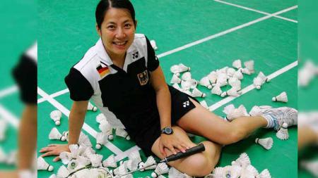 Melegenda di bulutangkis Jerman setelah tinggalkan Negeri Tirai Bambu, Xu Huaiwen sukses menjadi sorotan dari media China, Sports Sina. - INDOSPORT