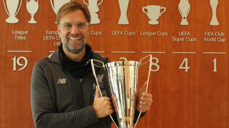 Pelatih Liverpool, Jurgen Klopp memberikan tanggapan mengenai keberhasilan Bayern Munchen meraih gelar juara Liga Champions musim 2019/20. - INDOSPORT