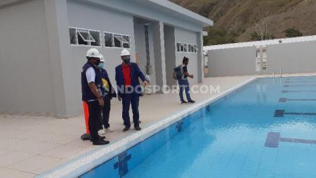 Tim PB PRSI saat melakukan sertifikasi Aquatic Papua. - INDOSPORT