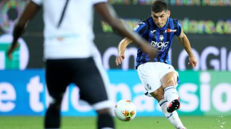 Ruslan Malinovskyi, salah satu pemain kunci Atalanta saat nanti melawan Manchester United. - INDOSPORT