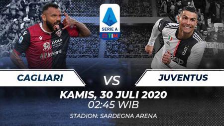 Berikut link live streaming pertandingan Serie A Italia pada giornata ke-37 yang mempertemukan Cagliari vs Juventus. - INDOSPORT