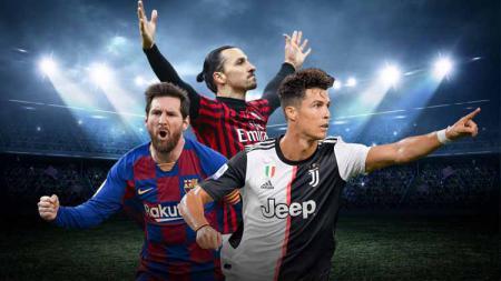 Kabar kepindahan Lionel Messi ke Inter Milan menjadi sinyal pertarungan dahsyat di Serie A Italia musim depan antara Ronaldo, Messi, dan Ibrahimovic. - INDOSPORT