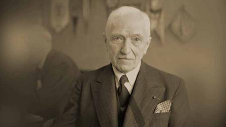 Jules Rimet, mantan presiden FIFA yang juga dikenal sebagai 'bapak' Piala Dunia. - INDOSPORT