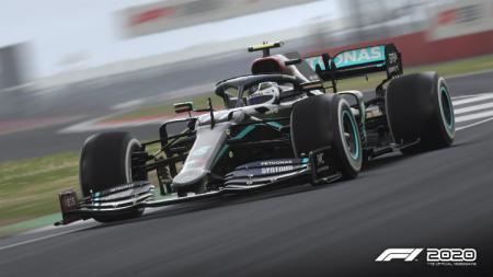 Codemasters memberikan update tampilan mobil baru milik tim Mercedes yang akan dikendarai Lewis Hamilton dan Valterri Bottas di Formula 1 (F1). - INDOSPORT