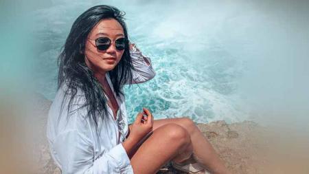 Kezia Santoso, pembalap gokart wanita asal Indonesia. - INDOSPORT
