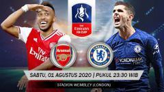 Indosport - Mengupas duel per lini kekuatan tim Arsenal dan Chelsea yang bakal berjumpa di partai puncak Piala FA 2019-2020 di Stadion Wembley.
