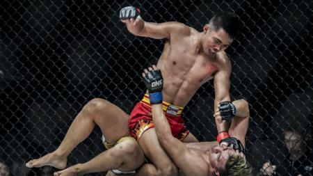 Petarung Mixed Martial Arts (MMA) asal Kediri, Oscar Yaqut. - INDOSPORT