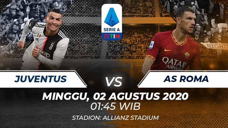 Link Live Streaming Pekan Terakhir Serie A Liga Italia: Juventus vs AS Roma