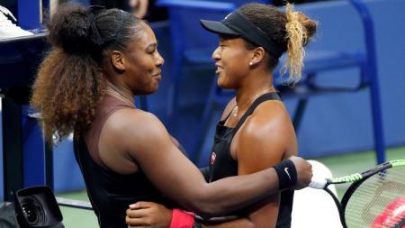 Serena Williams dan Naomi Osaka akan kembali tampil di Cincinnati Open 2020. - INDOSPORT