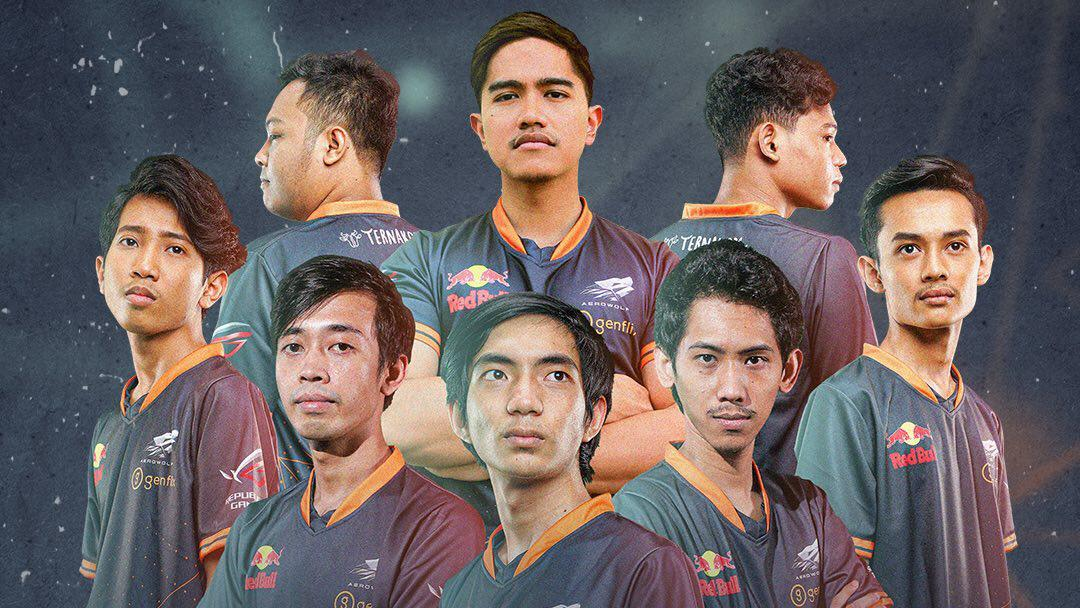 Roster Genflix Aerowolf di MPL Season 6 Copyright: instagram.com/aerowolfproteam
