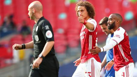 Bek tangguh Arsenal, David Luiz dilaporkan sudah sembuh dari cedera, sehingga tersedia untuk bermain melawan Molde di Liga Europa. - INDOSPORT