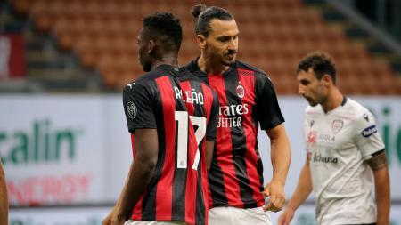 Mbappe Portugal alias Rafael Leao bisa dicolong Juventus setelah AC Milan hadapi dilema kala dilatih Stefano Pioli. - INDOSPORT