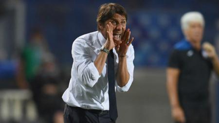 Jelang pertandingan kontra Fiorentina di Serie A Liga Italia, CEO Inter Milan, Giuseppe Marotta, memuji sosok Antonio Conte. - INDOSPORT