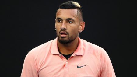 Nick Kyrgios termasuk petenis yang menuai 'berita' di Wimbledon 2021. - INDOSPORT