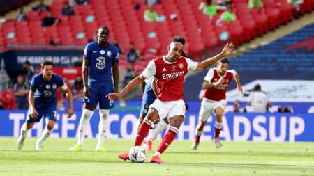 Seret Gol di Liga Inggris, Mikel Arteta Beri Saran ke  Pierre-Emerick Aubameyang. - INDOSPORT