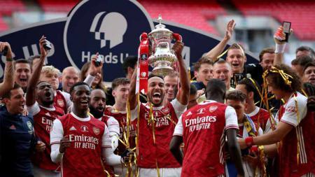 Arsenal siap jadi kuda hitam di kompetisi Liga Inggris 2020-2021. - INDOSPORT