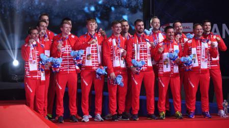 Asa tuan rumah Denmark di kompetisi Denmark Open 2020, dari untung sampai akhirnya menjadi buntung. - INDOSPORT