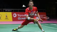 Indosport - Viktor Axelsen di ajang Piala Thomas 2018 silam