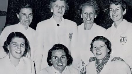 Tim Amerika Serikat saat Juara Piala Uber 1957. - INDOSPORT