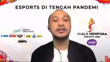 Giring Ganesha kembali ditunjuk untuk menjabat sebagai Ketua Pelaksana Piala Menpora eSports 2020. - INDOSPORT