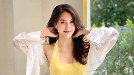 Pramugari sekaligus Miss Thailand 2014, Gibby Pimchanok Jitchoo ternyata memiliki sejumlah aktivitias olahraga demi menjaga bentuk tubuhnya. - INDOSPORT