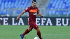 Indosport - Henrikh Mkhitaryan, gelandang serang AS Roma