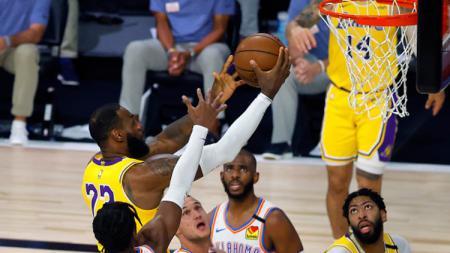 Berikut rekap hasil pertandingan NBA hari ini, Kamis (06/08/20) pagi WIB. Toronto Raptors belum terkalahkan dan LA Lakers dihajar Oklahoma City Thunder. - INDOSPORT