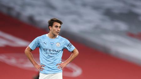 Manchester City terancam kehilangan Eric Garcia setelah bek muda yang diincar Barcelona itu menolak memperpanjang kontrak yang tinggal tersisa satu tahun. - INDOSPORT