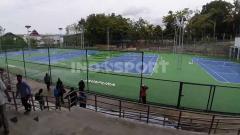 Indosport - Venue cabang olahraga Tenis yang dipersiapkan untuk perhelatan Pekan Olahraga Nasional (PON) XX di Papua tahun 2021 mendatang memiliki sejumlah keunggulan.
