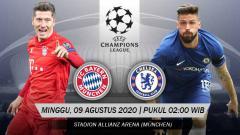 Indosport - Prediksi Pertandingan Liga Champions Bayern Munchen vs Chelsea