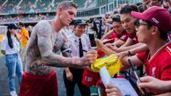 Indosport - Daniel Agger, legenda Liverpool yang kini jadi seniman tato