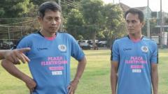 Indosport - Joko Susilo dan Tommy Pranata dalam laga amal