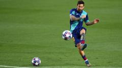 Indosport - Lionel Messi Merapat, Inilah Prediksi Line-up Mengerikan Manchester City Pada Musim Depan.