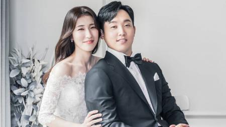 Kim Sa- rang dan Eom Hye-won, pasangan bulutangkis asal Korea Selatan. - INDOSPORT