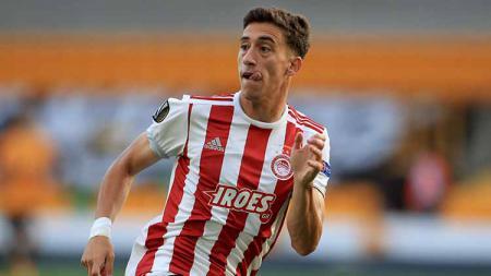 Juru taktik Liverpool, Jurgen Klopp berkomentar mengenai kedatangan bintang barunya yang baru diboyong dari Olympiakos, Kostas Tsimikas. - INDOSPORT