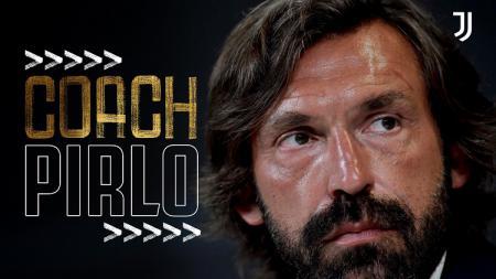 Andrea Pirlo, resmi ditunjuk sebagai pelatih anyar klub Serie A Italia, Juventus. - INDOSPORT