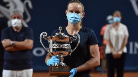 Fiona Ferro juara Palermo Ladies Open 2020. - INDOSPORT