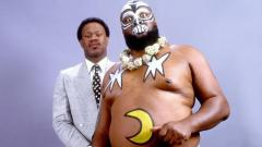 Indosport - Legenda WWE James 'Kamala' Harris.