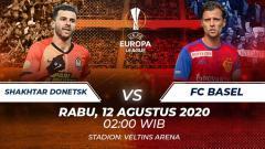 Indosport - prediksi pertandingan Shakhtar Donetsk vs FC Basel di ajang Liga Europa babak perempatfinal, Rabu (12/08/20) pukul 02.00 WIB di Veltins-Arena.