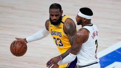 Indosport - Catatan buruk LA Lakers akhirnya berakhir usai sukses mengalahkan Denver Nuggets dalam lanjutan NBA 2019/20.