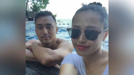 Istri Shohei Matsunaga, Eriko Matsunaga punya banyak kenangan tak terlupakan di Indonesia. Kini mantan WAGs Persib Bandung itu akan segera pulang kampung. - INDOSPORT