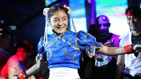 Petarung MMA ONE Championship berdarah Thailand-Jepang, Rika Ishige. - INDOSPORT