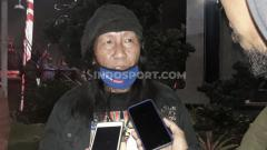 Indosport - Salah satu tokoh Aremania, Anto Baret.