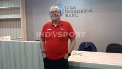 Indosport - Direktur Utama PT LIB, Akhmad Hadian Lukita.