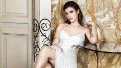 Indosport - Elisabetta Canalis, mantan pacar Valentino Rossi.