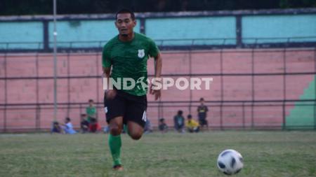 Pemain senior PSMS Medan, Legimin Raharjo. - INDOSPORT