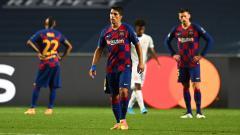 Indosport - Resmi hengkang ke Atletico Madrid di bursa transfer musim panas ini, Luis Suarez membuat kemelut di dalam tubuh Barcelona.